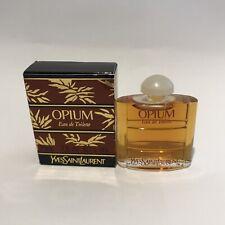 YSL Yves Saint Laurent Opium EDT miniature parfum 7,5ml