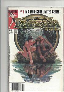 Tarzan of the Apes #1 &2 - 1984 - Marvel - full set - 8.5+ - bagged
