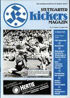 II. BL 86/87 Stuttgarter Kickers - FSV Salmrohr, 23.08.1986