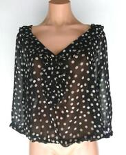 Zara Polka Dot Tops & Blouses for Women