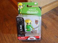 "2015 Jakks Pacific-World Of Nintendo Zelda-2"" Link Mini Figure (New)"