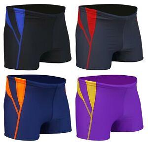 ACCLAIM Fitness Devonport Boxer Trunks Mens Tie Nylon Lycra Swimming Seconds