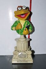 SIDESHOW WETA MUPPET SHOW POLYSTONE BUST SCOOTER 847/5000 BOXED