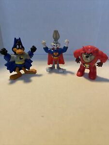 McDonald's happy meal Looney Tunes DC Super Friends toys from 1991