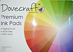 Dovecraft Premium Pigment Ink Pad - Huge Colour Range - Cheapest Ink Pads