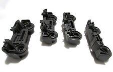 GE Dishwasher Washer Upper Dishrack 4 Roller Assembly Kit Part WD12X10435