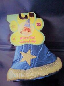 NEW Wizard Hat for Dogs/Pets Size S/M Rubie's Pet Shop Boutique #580190