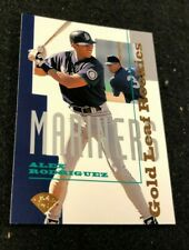 New listing 1995 Gold Leaf Rookies Alex Rodriguez #1 of 16 RC Rookie Baseball NM Near Mint