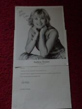 ANTHEA TURNER - TV PERSONALITY - AUTOGRAPHED PHOTO