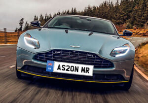 AS20NMR  for Aston Martin Private Number Plate Cherished Personalised
