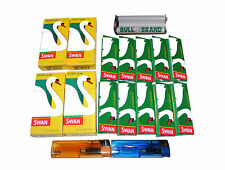 METAL BULL BRAND CIGARETTE ROLLING MACHINE, 10 PAPERS,  4 FILTERS, 2 LIGHTERS