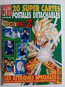 Magazine Dragon ball Z spécial vedette plus hors serie avec cartes