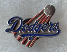 VINTAGE 1998 LOS ANGELES DODGERS TEAM LOGO MLB BASEBALL PIN BUTTON LICENSED