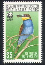Austria 1988 WWF/Bee-eater/Birds/Nature 1v (n25516)
