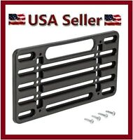 NEW UNIVERSAL FRONT/REAR LICENSE PLATE FRAME MOUNTING BRACKET BUMPER TAG HOLDER