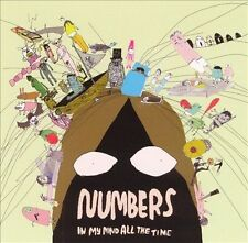 NUMBERS -  In My Mind All the Time (CD, 2004, Tigerbeat6 Music)