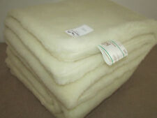 Duvet, Wool Blanket, Bedspread, Plaid Merino Wool 100%