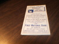 JUNE 1957 CNJ JERSEY CENTRAL ROSELLE, NJ OFFICIAL TIMETABLE
