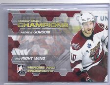 10-11 2010-11 HEROES AND PROSPECTS ANDREW GORDON CALDER CUP CHAMPIONS 04 CANUCKS