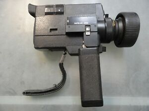Canon Auto Zoom 512XL Electronic Super 8 Movie Camera For Parts Or Repair