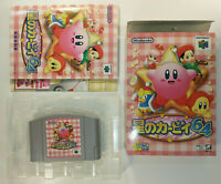 Kirby 64 The Crystal Shards ~ Complete in Box CIB (Nintendo 64 N64, 2000) Japan