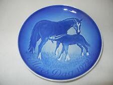 B & G-madre tag piatto 1972 immagine: cavallo (la mia POS-N. 1972-2)
