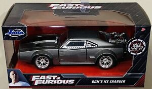 Jada Fast & Furious Dom's Ice Charger Silver 1/32 die cast Car