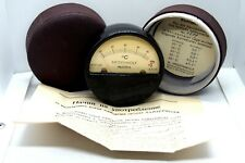 RARE Antique Medical Heidenwolf Austria Hand SKIN Thermometer Original Box paper