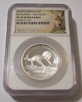 Australia 2015 P 1 oz Silver Dollar High Relief Proof PF70 NGC Low Mintage