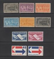 US,E14,E15,E16,E17,E18,E19,E20,E21,E22-23,MNH,VF-XF,SPECIAL DELIVERY, COLLECTION