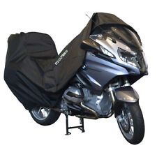 DS Covers Alfa Outdoor Rain Frost UV Cover Fits Kawasaki ZX 6R With Top Box