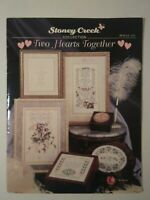 Stoney Creek Collection - Two Hearts Together Counted Cross Stitch - Book # 133