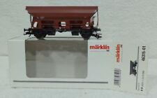 Marklin 46315 -01 NS Nederlandse stortwagen kortkoppel beladen echte steenkool