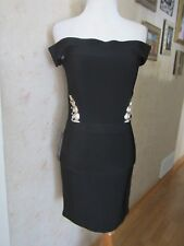 Guess by Marciano Black Sleeveless Stretch Bandage Bodycon Dress Size M