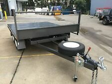 BRAND NEW Table Top Flat bed Trailer TANDEM AXLE 2.7X2090 DECK 2T