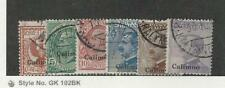 Italy - Calino, Postage Stamp, #1-3, 6-8 Used, 1912
