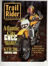 Trail Rider Motorcross Magazine July 1999 Ktm 200 Atlantic City Gncc