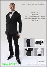 1:6 Scale Clothes Model Men Suit CC216 Set Action Figure Accessories Male Body