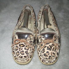 Womens Sperry Leather Sheep Lined/Fur PreOwned Size 9