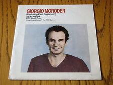 "GIORGIO MORODER - REACH OUT     7"" VINYL PS"
