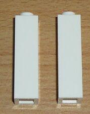 Lego City 2 Säulen 1 x 1 x 3 in weiß