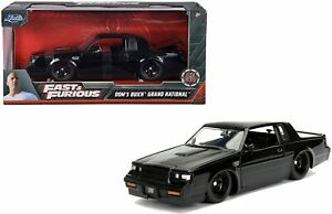 JADA Fast And Furious Dom's 1987 Buick Grand National 1:24 Diecast Car