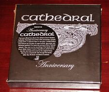 Cathedral: Anniversary - Limited Deluxe Edition 2 CD Box Set 2011 Rise Above NEW