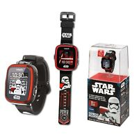 Clock Multifunction Star Wars Trooper Black with Screen Touch Video Photo Games