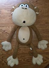 """Bobby Jack Large Monkey Stuffed Animal Plush 25"""" Tall!"""