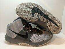 Nike Air Precision Grey Black Basketball Shoes Men's Size 11 898455-004