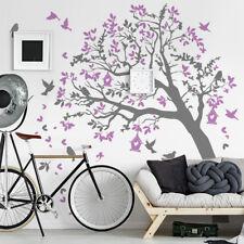 01447 Wall Stickers Adesivi Murali parete decoro muro piante Alberi 190x210 cm