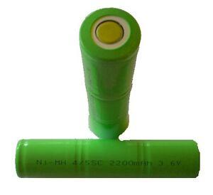 XANLITE accus 3.6 V 2200 mAh pour lampe torche