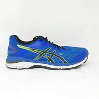 Asics Mens GT 2000 7 1011A158 Blue Black Running Shoes Lace Up Low Top Size 14