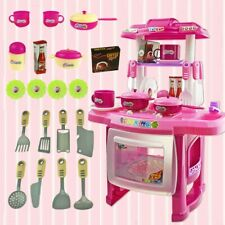 33Pcs Cooking Chef Pretend Play Kit Kitchen Toy Set Christmas Gift For Girl Boy